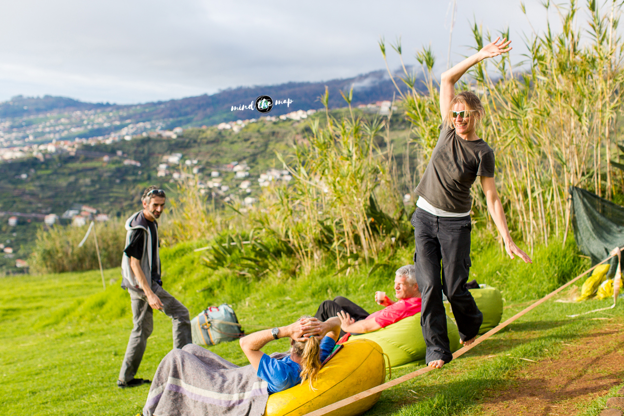 Madeira take-off paragliding