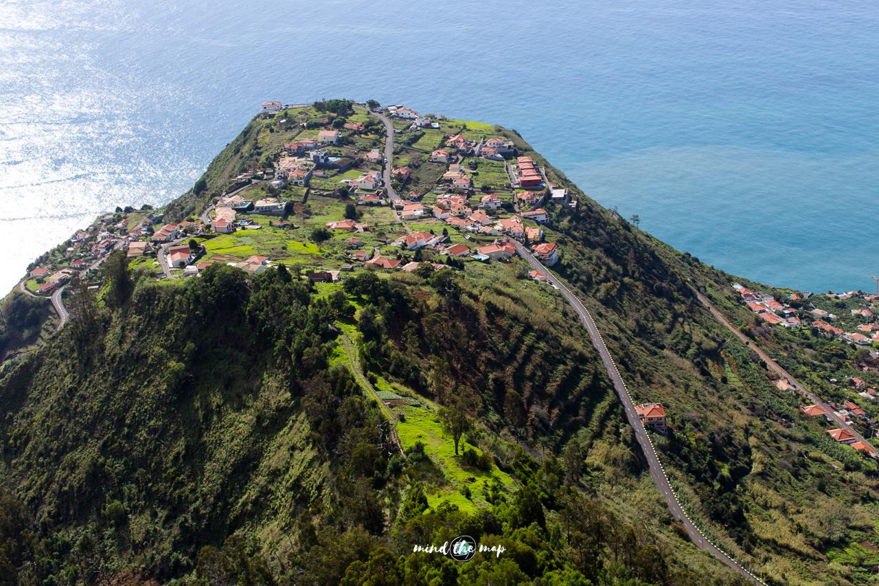 paragliding take-off Madeira