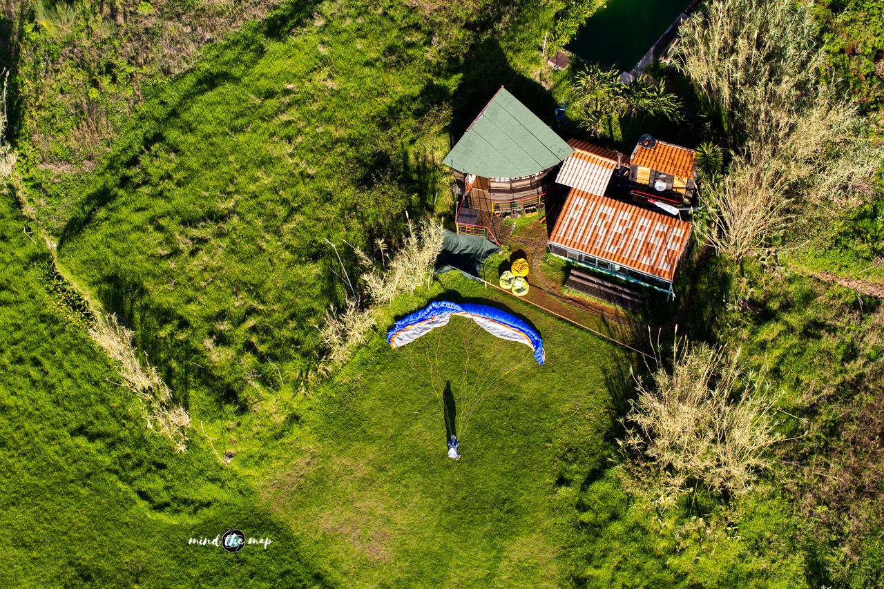 Madeira paragliding take-off