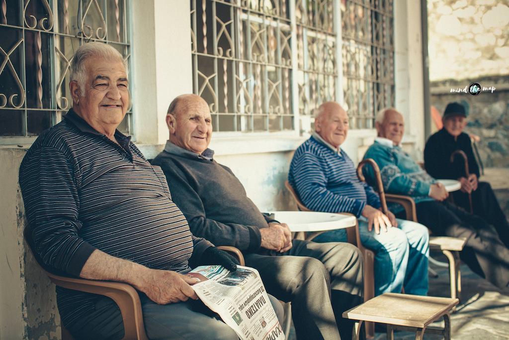 greek men chillin'