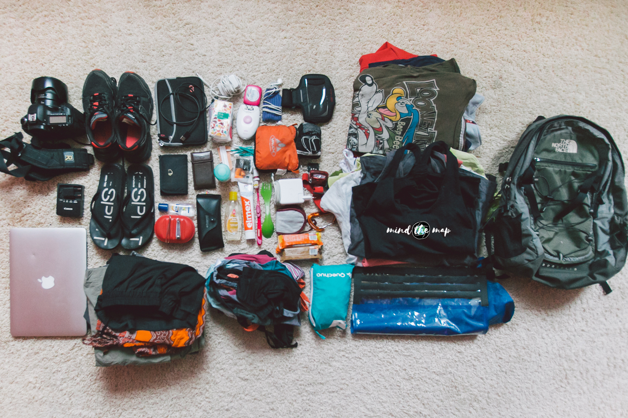 pack light, travel light