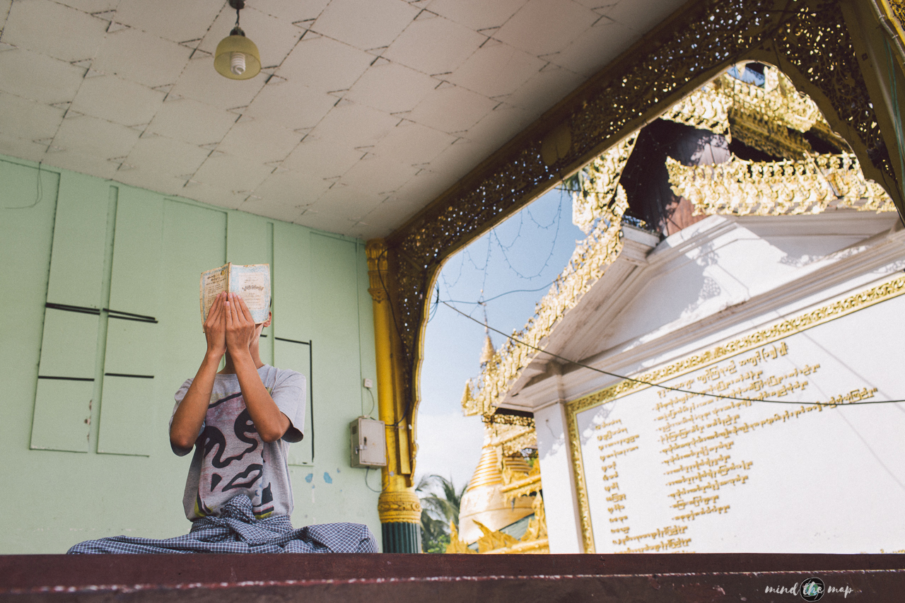 myanmar burma yangon shwedagon pagoda